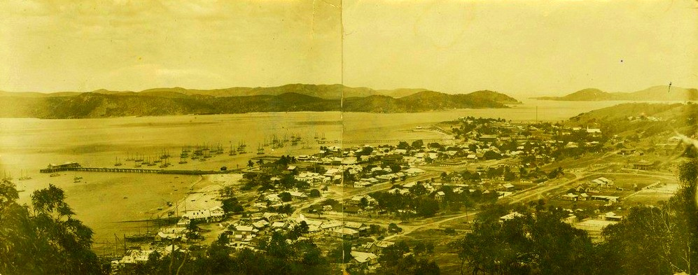 Thursday Island in the Torres Strait, 1915. Story written by John Harrison, UQ academic, historian and journalist. (The University of Queensland).
